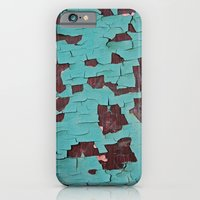 iPhone & iPod Case featuring A Peeling Paint by Shy Photog