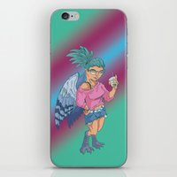 Harpy Gal iPhone & iPod Skin