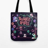 Bubble Bobble Tote Bag