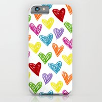 Hearts Parade iPhone 6 Slim Case