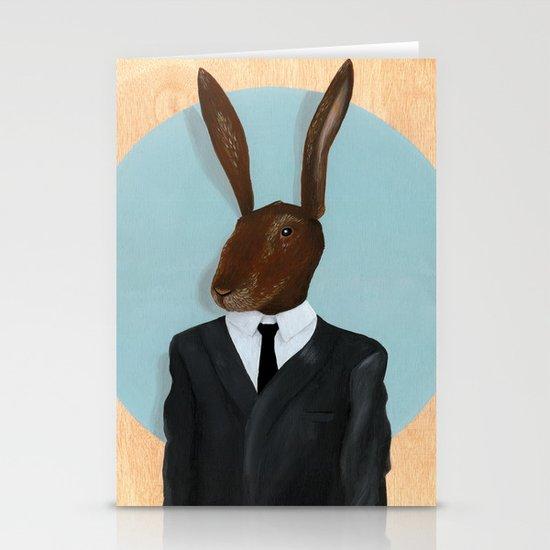 David Lynch | Rabbit Stationery Card