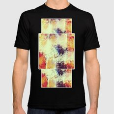 Slow Burn Black Mens Fitted Tee SMALL
