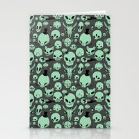 Skulls Stationery Cards