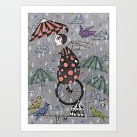 Rainbirds Art Print