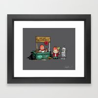 Zoidberg is In - Signed Framed Art Print