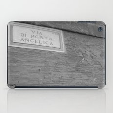 The Door is Always Open. iPad Case