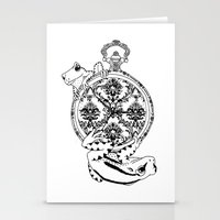 Frog Watch Stationery Cards