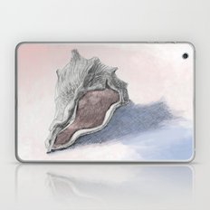 THE GHOSTLY PINK INNER GLOW OF THE DRAGON'S HEAD SEASHELL Laptop & iPad Skin