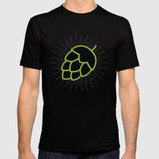 Me So Hoppy SMALL Black Mens Fitted Tee