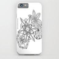 Vermont Zentangle Snow F… iPhone 6 Slim Case