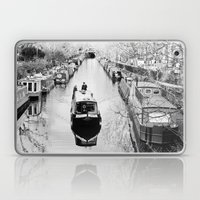 London Canal During Wint… Laptop & iPad Skin