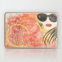 Courage Laptop & iPad Skin
