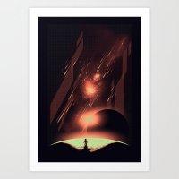 Intergalactic Travel Art Print
