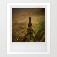 Ivy Isolation Art Print