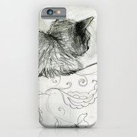 iPhone & iPod Case featuring Fluffers on the Sofa by Tiny Pencil Studio: Illustration & Desig