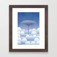 Cloud City Bespin Framed Art Print