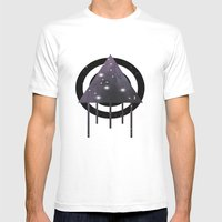Dripping Space Mens Fitted Tee White SMALL