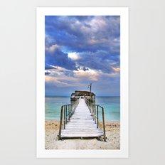 Pier Art Print