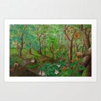 Beautiful Forest Art Print