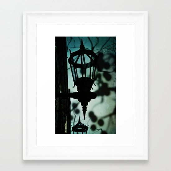 Haunted by You Framed Art Print