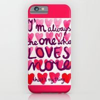 iPhone & iPod Case featuring i'm always by Agata Kowalska