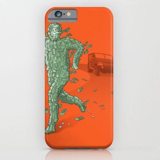 The Six Million Dollar Man iPhone & iPod Case