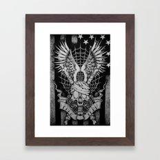 Amerika Framed Art Print