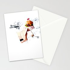 Burgery is a Sin Stationery Cards