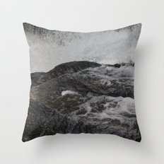 Jones River Falls Throw Pillow
