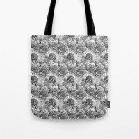 Malachite Black And Whit… Tote Bag
