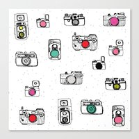 Pop Camera Canvas Print