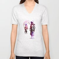 Space Men Unisex V-Neck