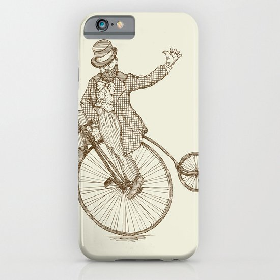 Flatland Penny Farthing iPhone & iPod Case