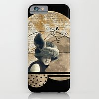 iPhone & iPod Case featuring Moon Maiden by Studio Judith