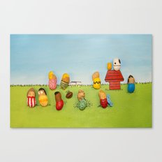 Real Peanuts Canvas Print