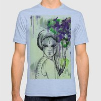 Tribal Beauty 1 Mens Fitted Tee Athletic Blue SMALL