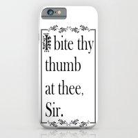 SHAKESPEAREAN INSULT iPhone 6 Slim Case