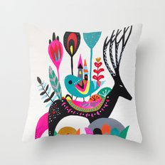 Move house Throw Pillow