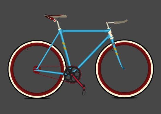 Bike Art Print
