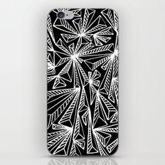 White Crystals / Minimal… iPhone & iPod Skin