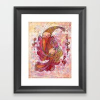 old friends are gold Framed Art Print