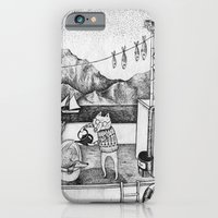 iPhone & iPod Case featuring Fox on Fishing-boat by Ulrika Kestere