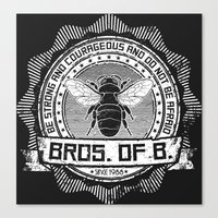 Bros. of B. Dark Canvas Print