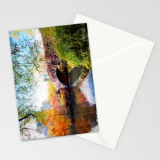 Last Autumn in Central Park Stationery Cards