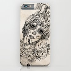Sugar Skull Queen iPhone 6 Slim Case