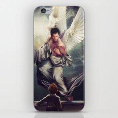 Supernatural: Angel watching over you iPhone & iPod Skin