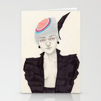 Black Feather Stationery Cards