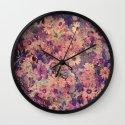 Floral Flood Wall Clock
