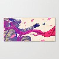 SOS Sakura Canvas Print