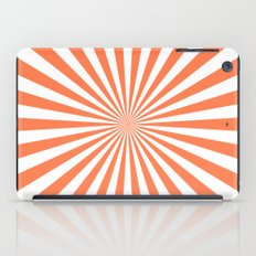 Starburst (Coral/White) iPad Case